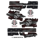 Glock 33 Decal Grip - Semper Fi