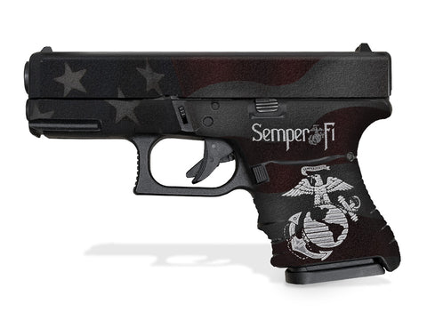 Glock 30SF Decal Grip - Semper Fi
