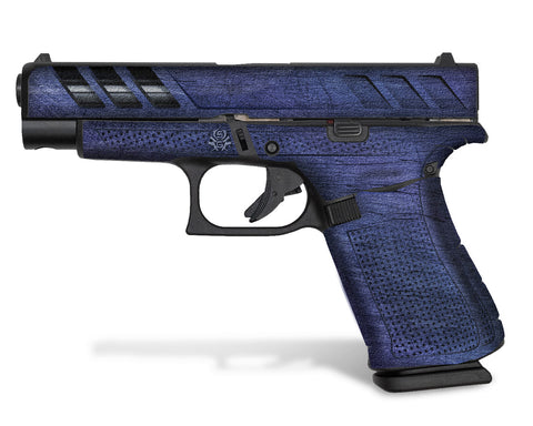 Purple-Blue SGX design on Glock 48
