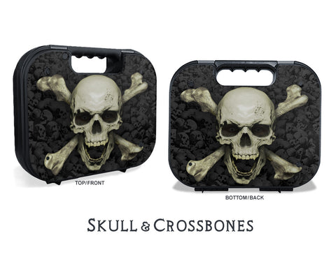 Glock Case Graphics Kit - Skull & Crossbones