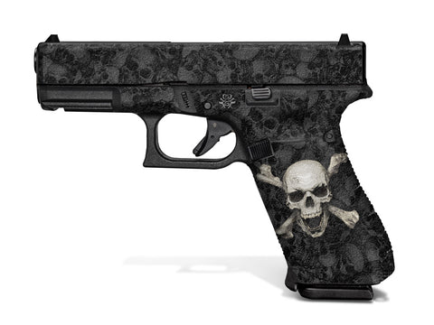 Glock 45 Decal Grip - Skull & Crossbones
