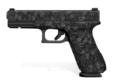 Glock 17 Gen 5 Decal Grip - Skull Collector