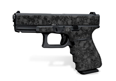 Glock 23 Gen 3 Decal Grip - Skull Collector
