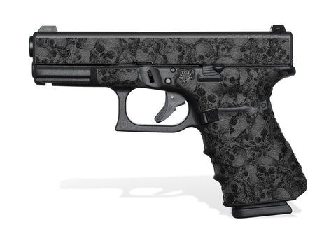 Glock 19 Gen 4 Decal Grip - Skull Collector