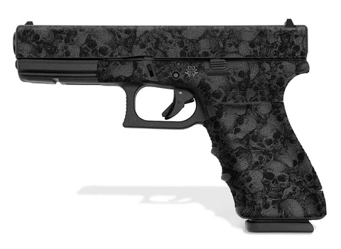 Glock 21 SF Decal Grip - Skull Collector
