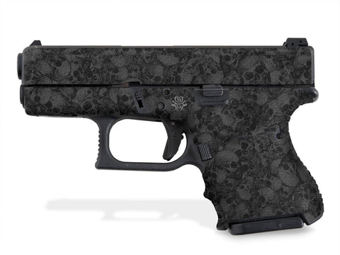 Glock 27 Decal Grip - Skull Collector