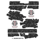 Glock 26 Decal Grip - Skull Collector