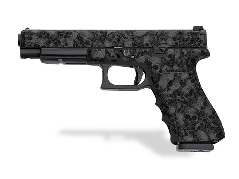 Glock 34 Decal Grip - Skull Collector