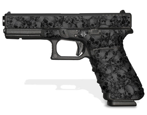 Glock 17 Gen 3 Decal Grip Graphics - Skull Collector