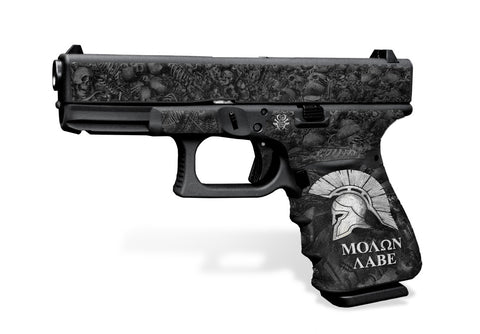 Glock 23 Gen 3 Decal Grip - Sparta