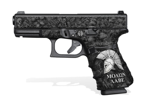 Glock 19 Gen 4 Decal Grip - Sparta