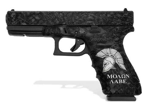 Glock 21 SF Decal Grip - Sparta / Molon Labe
