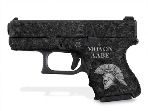 Glock 27 Decal Grip - Sparta / Molon Labe