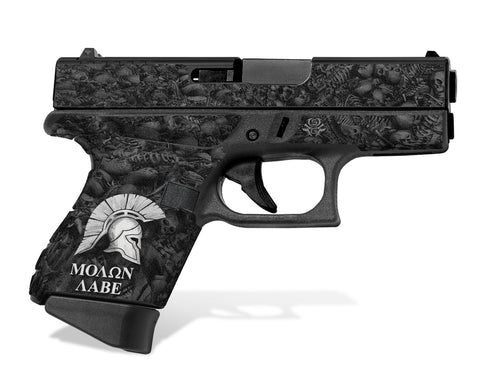 Glock 43 Tactical Grip Graphics - Sparta