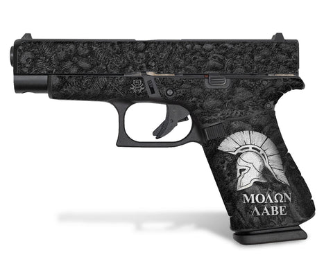 Glock 48 Decal Grip - Sparta / Molon Labe