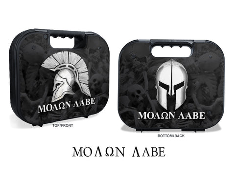 Glock Case Graphics Kit - Molon Labe