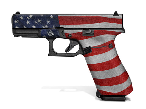 Glock 45 Decal Grip - Stars & Stripes