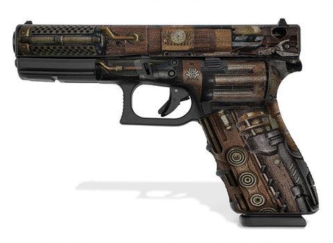 Glock 20 SF Decal Grip - Steampunk