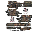 Glock 27 Decal Grip - Steampunk