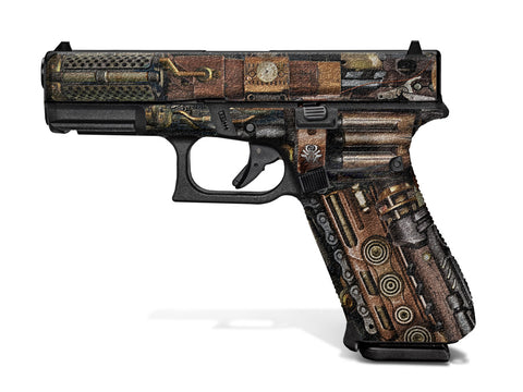 Glock 45 Decal Grip - Steampunk