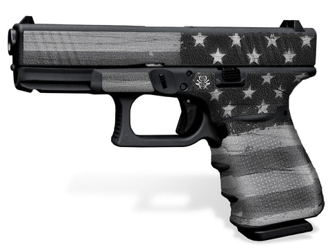 Glock 32 Decal Grip - Subdued