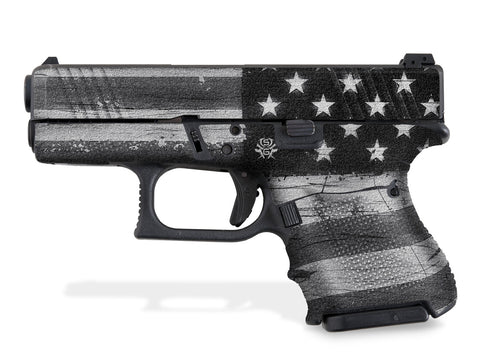 Glock 33 Decal Grip - Subdued