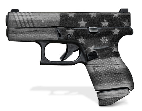 Glock 42 Decal Grip - Subdued