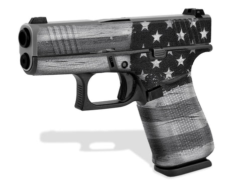 Glock 43X Decal Grip - Subdued