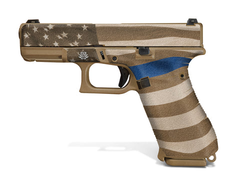 Decal Grip for Glock 19X - Thin Blue Line