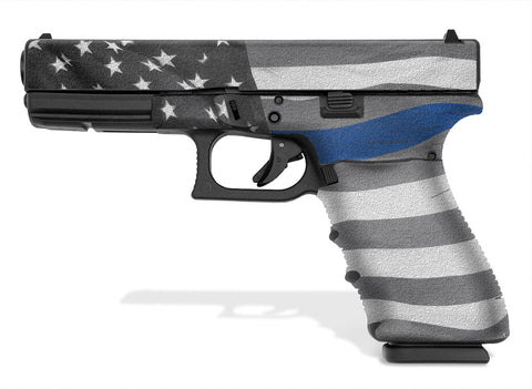 Glock 21 SF Decal Grip - Thin Blue Line