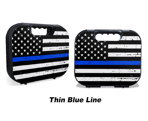 Glock Case Graphics Kit - Thin Blue Line