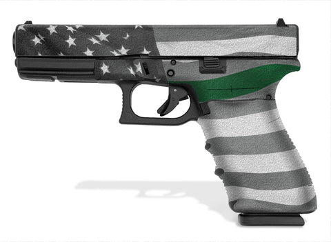 Glock 21 SF Decal Grip - Thin Green Line