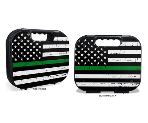 Glock Case Graphics Kit - Thin Green Line
