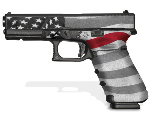 Glock 22 Gen 4 Decal Grip - Thin Red Line