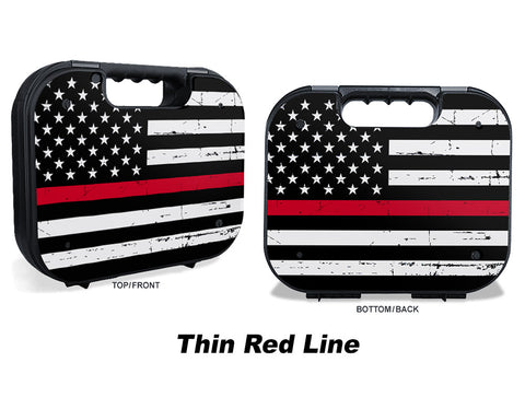 Glock Case Graphics Kit - Thin Red Line