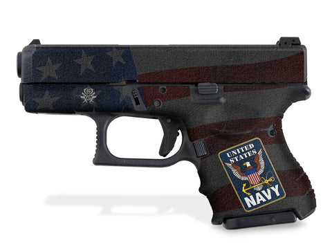 Glock 33 Decal Grip - US NAVY