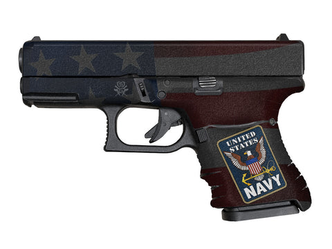 Glock 29SF Decal Grip - U.S. Navy