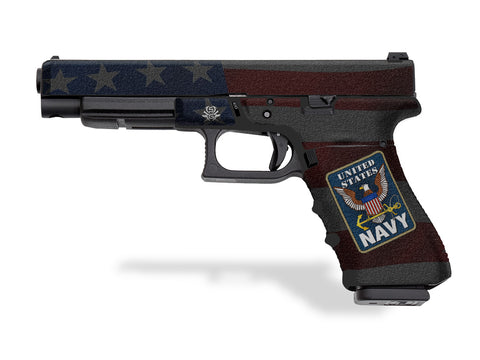 Glock 34 Decal Grip - US Navy