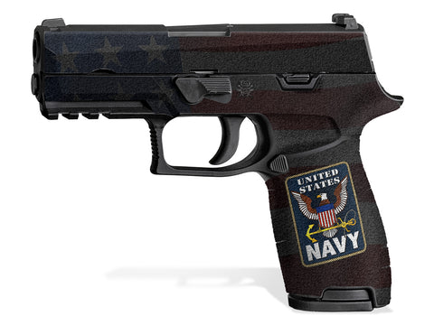 Decal Grip for Sig P320 Carry (2016+) US Navy