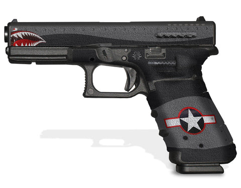 Glock 17 Gen 3 Decal Grip Graphics - War Machine