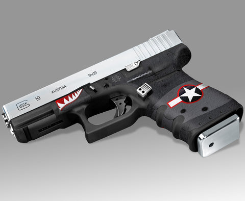 Glock 19 Gen3 Tactical Grip Graphics - War Machine