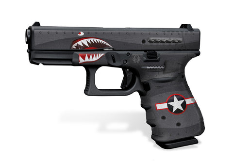 Glock 23 Gen3 Tactical Grip Graphics - War Machine