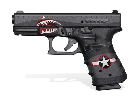Glock 19 Gen4 Tactical Grip Graphics - War Machine