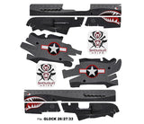Glock 27 Decal Grip - War Machine