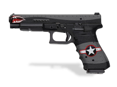 Glock 35 Decal Grip - War Machine