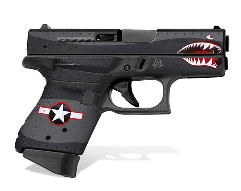 Glock 43 Tactical Grip Graphics - War Machine