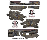 Glock 26 Decal Grip - Zombie Outlaw
