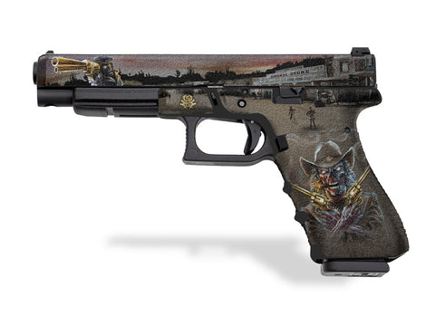 Glock 34 Decal Grip - Zombie Outlaw