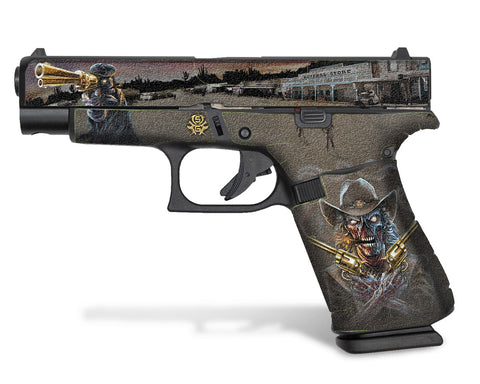 Glock 48 Decal Grip - Zombie Outlaw