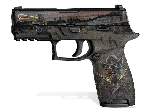Decal Grip for Sig P320 Carry (2016+) Zombie Outlaw